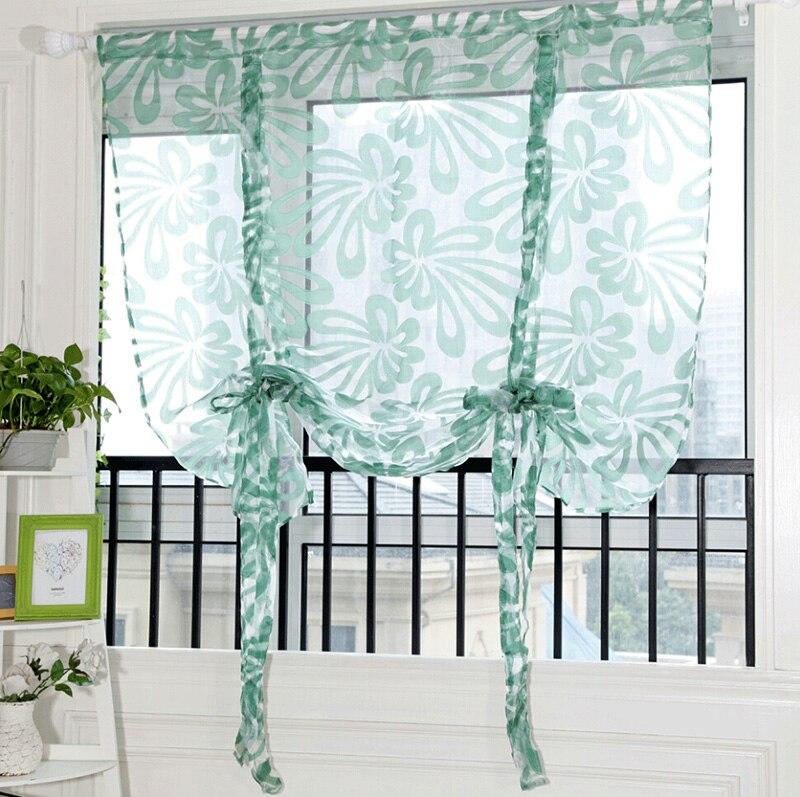 1pc Tassels Voile Curtain Swags Pelmet Valance Net