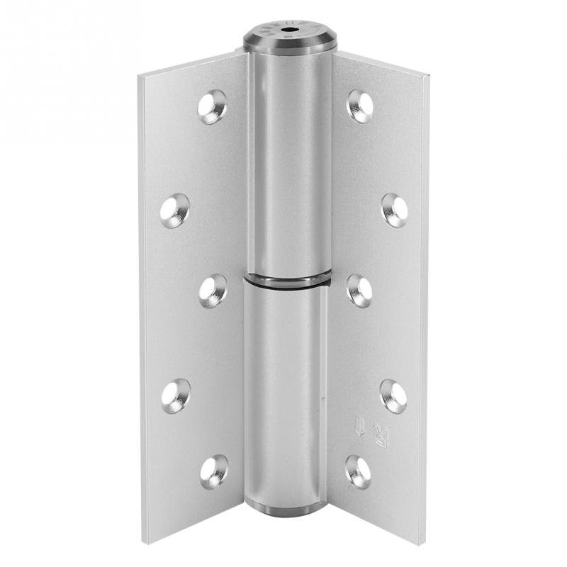5 дюймов Серебряный h-образный немой гидравлический амортизатор петля Автоматическая Откройте сразу закрытие шарнирная дверь песок ...