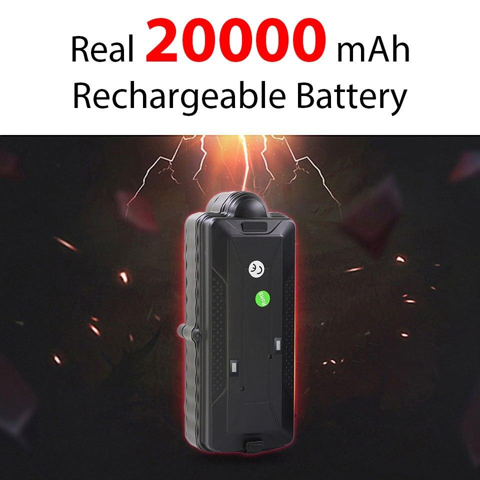 4G 3g gps трекер для автомобиля TK20G магнит водонепроницаемый портативный аккумулятор 20000 мАч Wi Fi датчик движения Дроп сигнализация бесплатная веб приложение GSM голосовой монитор - 5