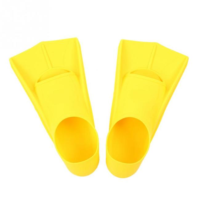 Professional Silicone Short Flippers
