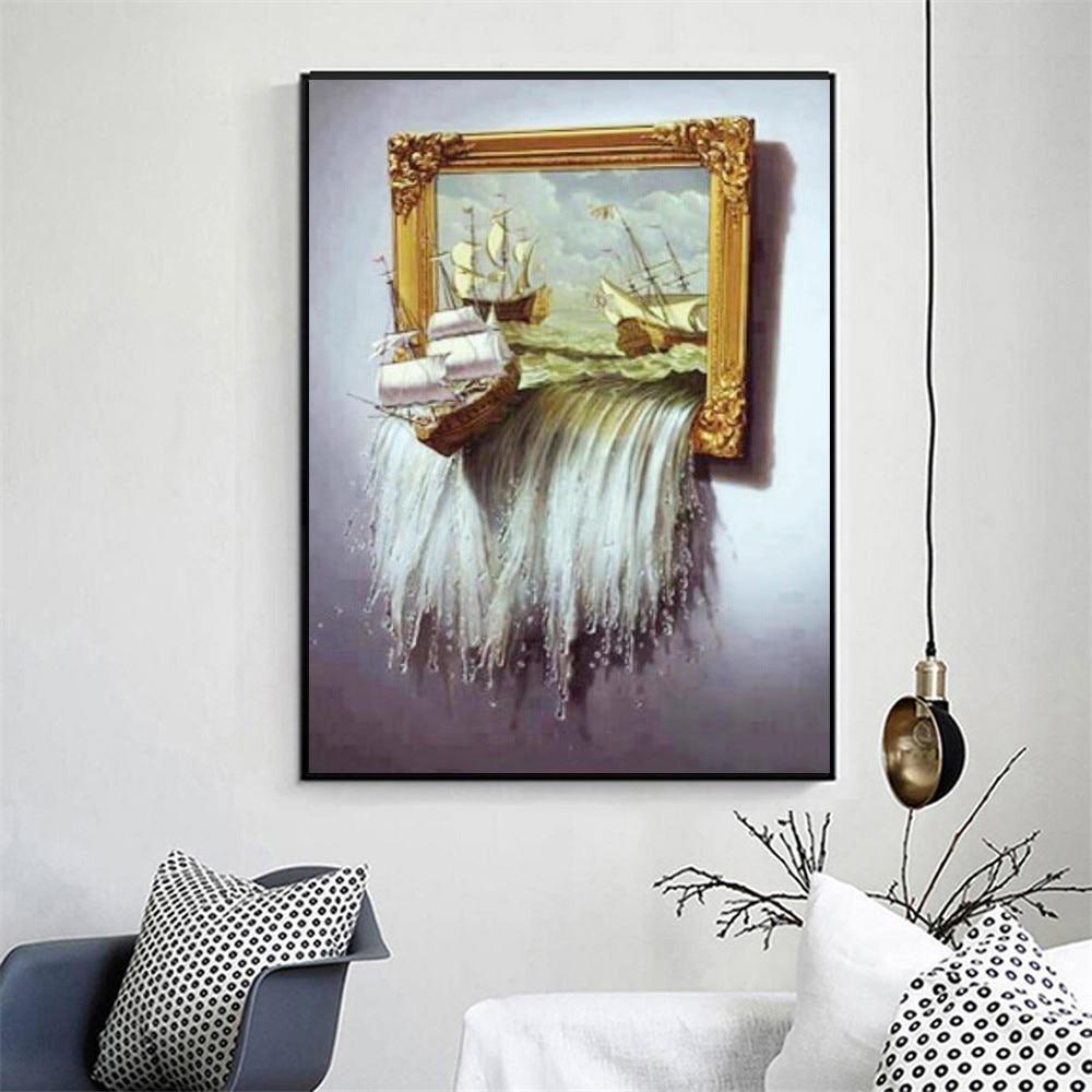 Needlework DIY Diamantmålning Korsstygn Square Diamond Broderi - Konst, hantverk och sömnad - Foto 3