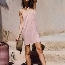 MUXU pink backless suspender mini dress jurken vestidos bodycon women clothing kleider curtos sukienka lace clothes