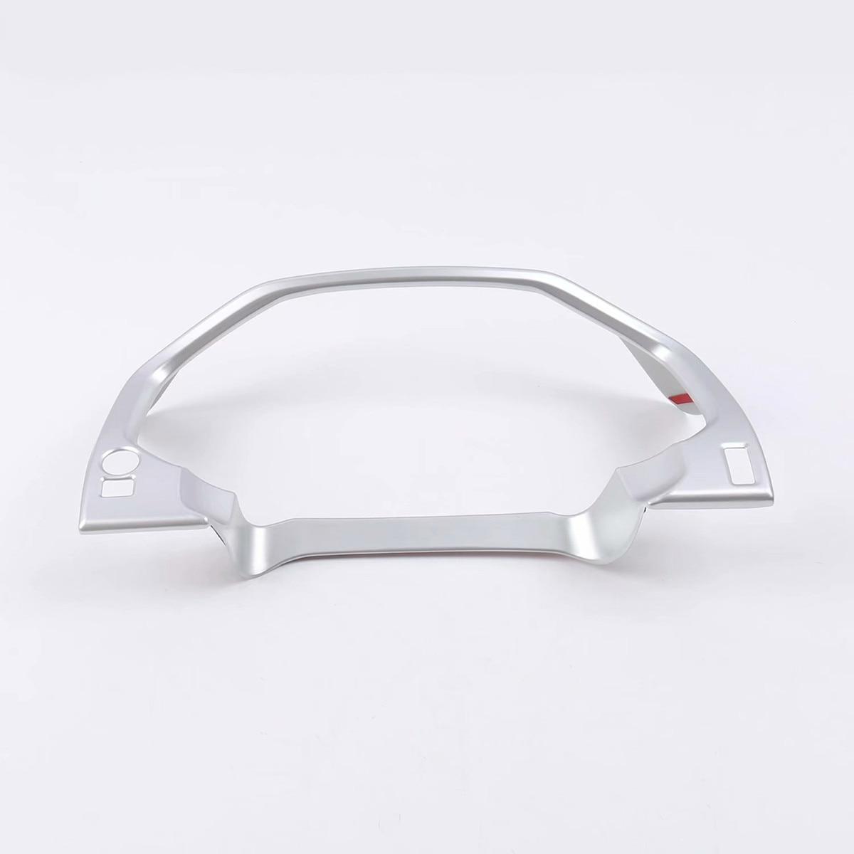 For Toyota Land Cruiser Prado 150 2018 FJ150 ABS Chrome Car Dashboard Decorative Cover Accessories