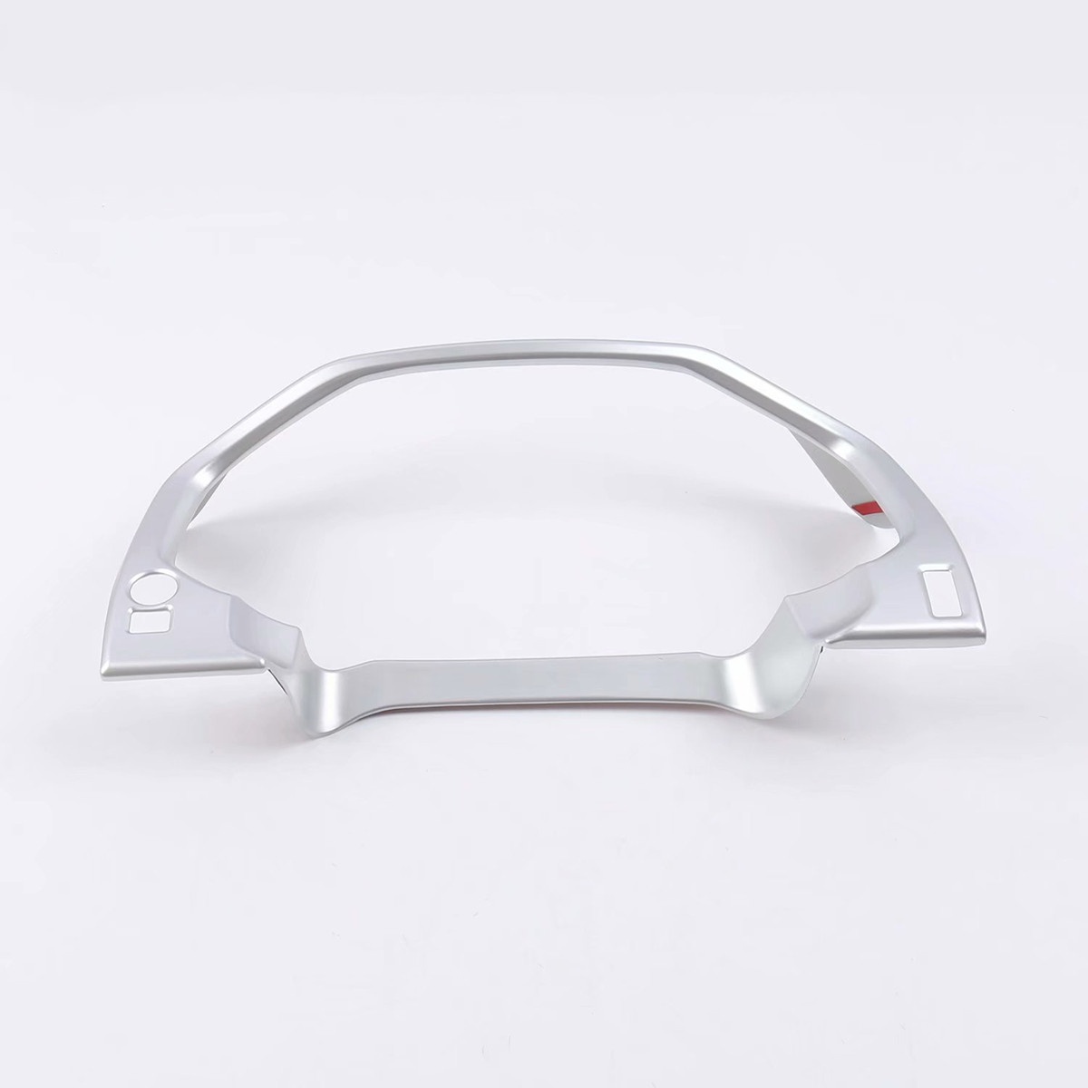Pour Toyota Land Cruiser Prado 150 2018 FJ150 ABS Chrome voiture tableau de bord accessoires de couverture décoratifs