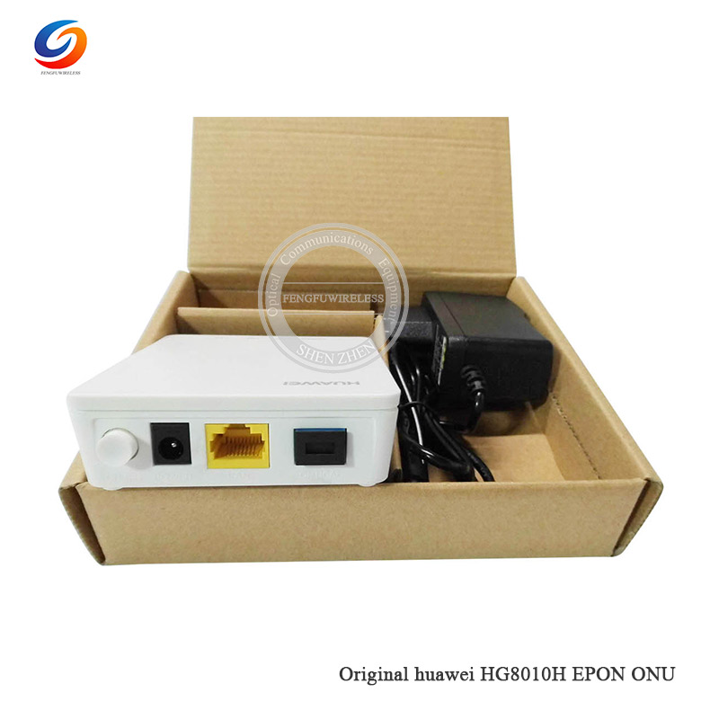 Cellphones & Telecommunications 2019 Hottest 100% Original New Hua Wei Hg8010h Epon 1ge Onu Ont With 1 Port Epon Apply To Ftth Mode,class C+,terminal Epon Onu Up-To-Date Styling