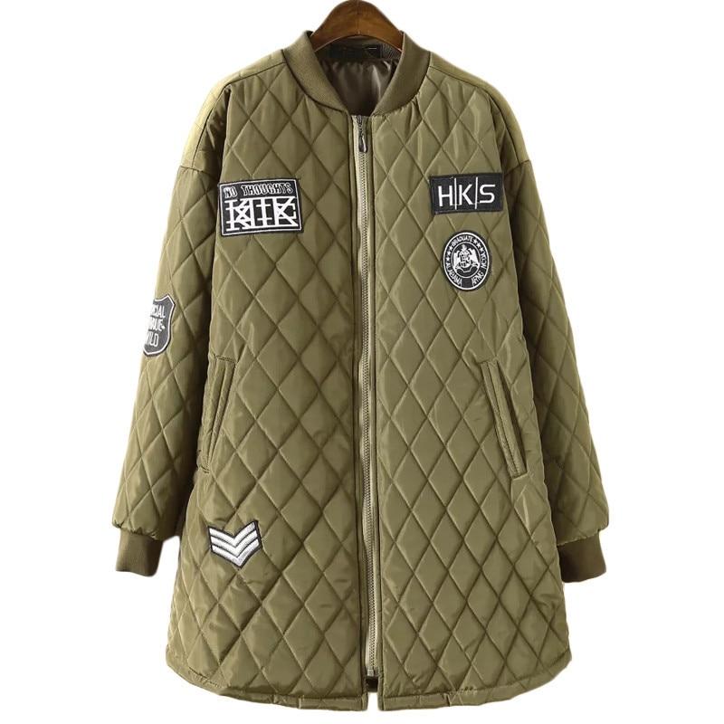 2019 New Plus Size Women Winter Coat Jacket Plus Size 100kg A-shaped Cotton Padded Jackets and Coats Loose Coat   Parkas