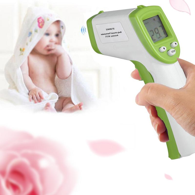Noncontact Infrared Thermometer High Precision Instant Reading LCD Display Baby Digital ThermometerNoncontact Infrared Thermometer High Precision Instant Reading LCD Display Baby Digital Thermometer