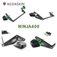 KODASKIN Motorcycle CNC Alluminum Frame Sliders Crash Protector Falling Protection For Kawasaki NINJA 400 ninja400
