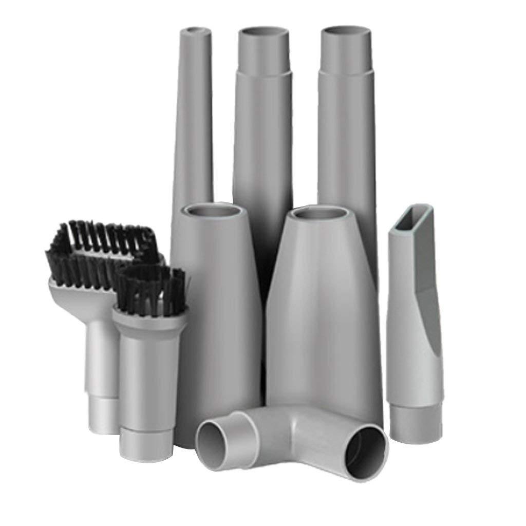 MMFC-9pcs Mini Vacuum Attachment Accessories Parts Set Fits Most Vacuum Cleaners