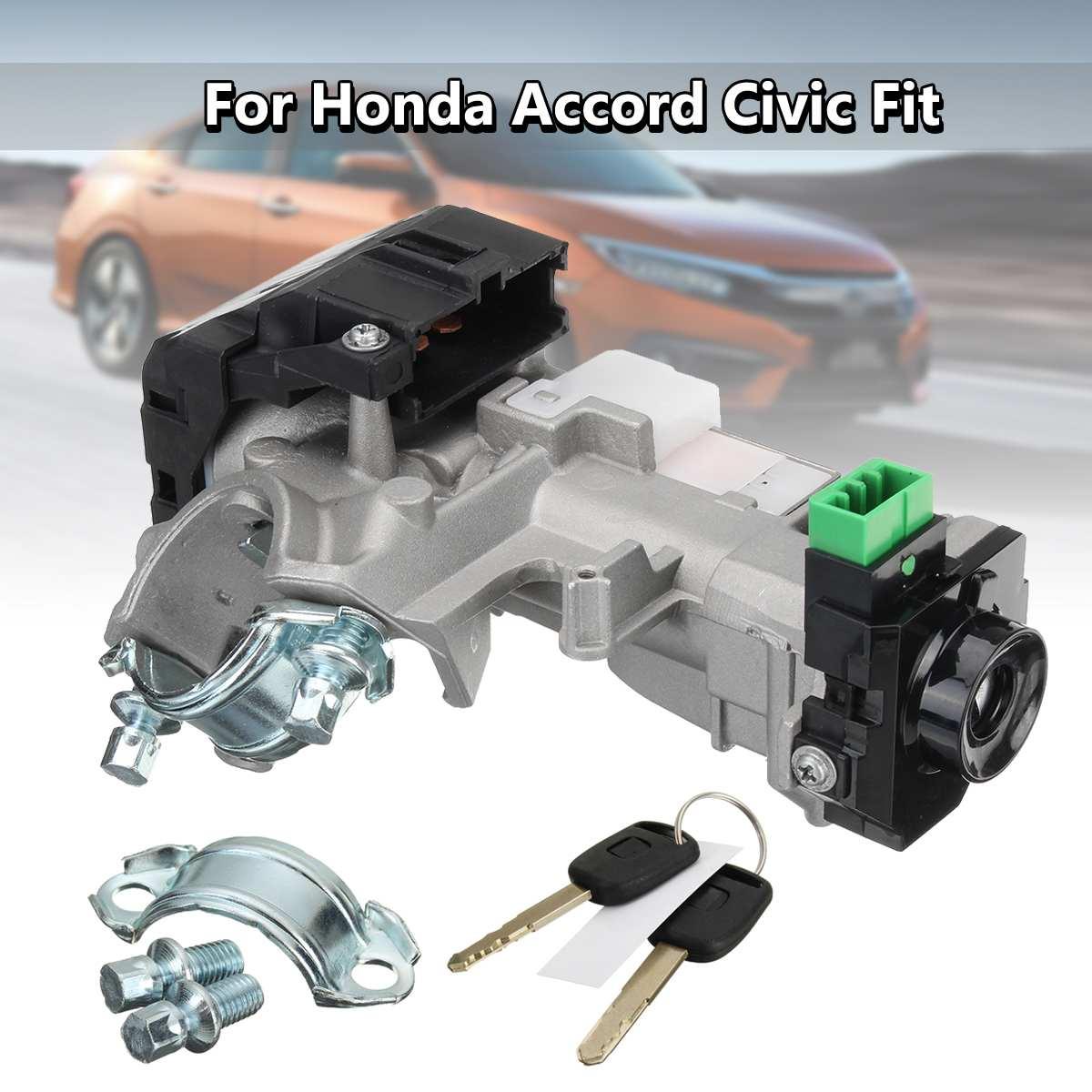 Ignition Switch Cylinder Lock Auto Trans 2 Keys for Honda for Accord Civic 2003 2004 2005Ignition Switch Cylinder Lock Auto Trans 2 Keys for Honda for Accord Civic 2003 2004 2005