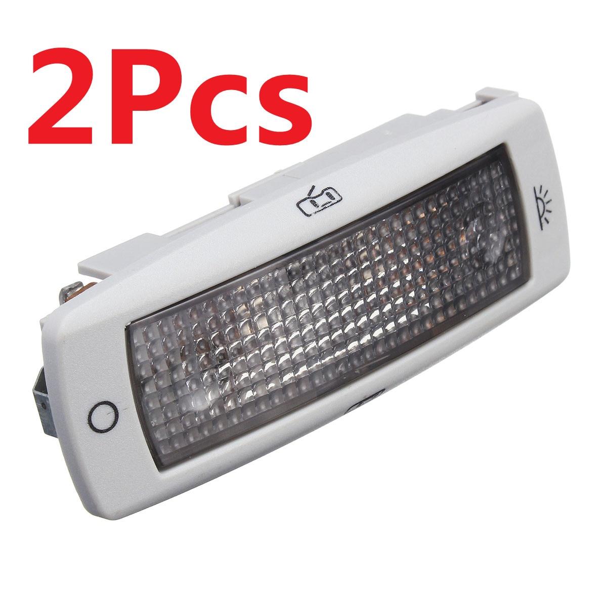 Потолочный светильник для VW Golf, Passat, Tiguan, Skoda Fabia Superb, Seat Leon 3B0947291, 2 шт.