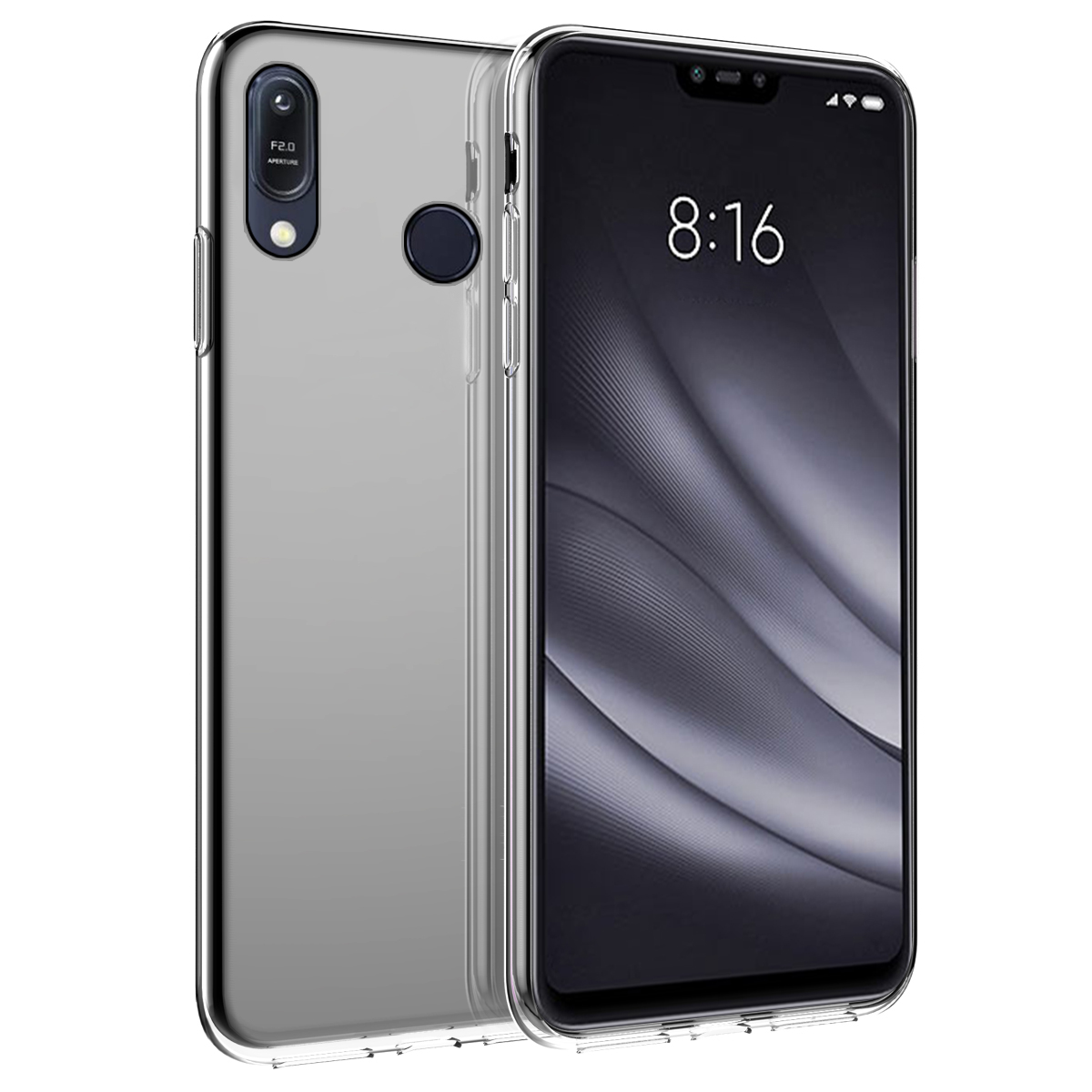 For Asus Zenfone Max Pro M2 ZB631KL Case Silicone Transparent Soft TPU Back Cover For Asus Zenfone Max M2 ZB633KL ASUS ZB631KL