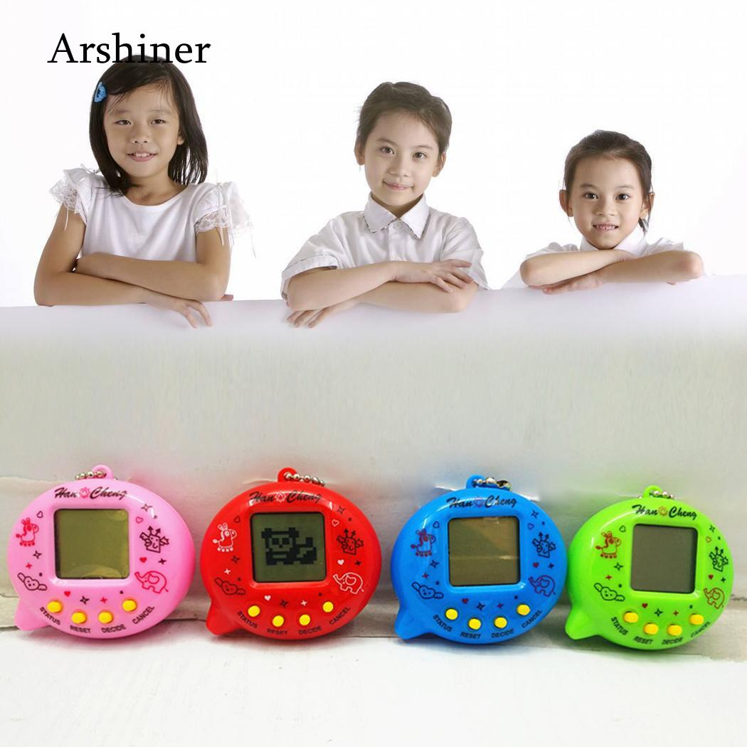 Hot Electronic Pets Toys 90S Nostalgic 49 Pets In One Virtual Cyber Pet Toy Tamagochi