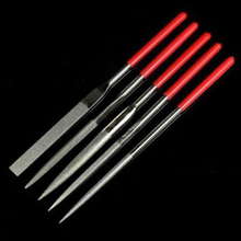 5*Metal Needle Files for Deburring Fixing Jewelry Diamond Glass Stone Wood Tools&Model Making Precision Craft Set Carving Needle
