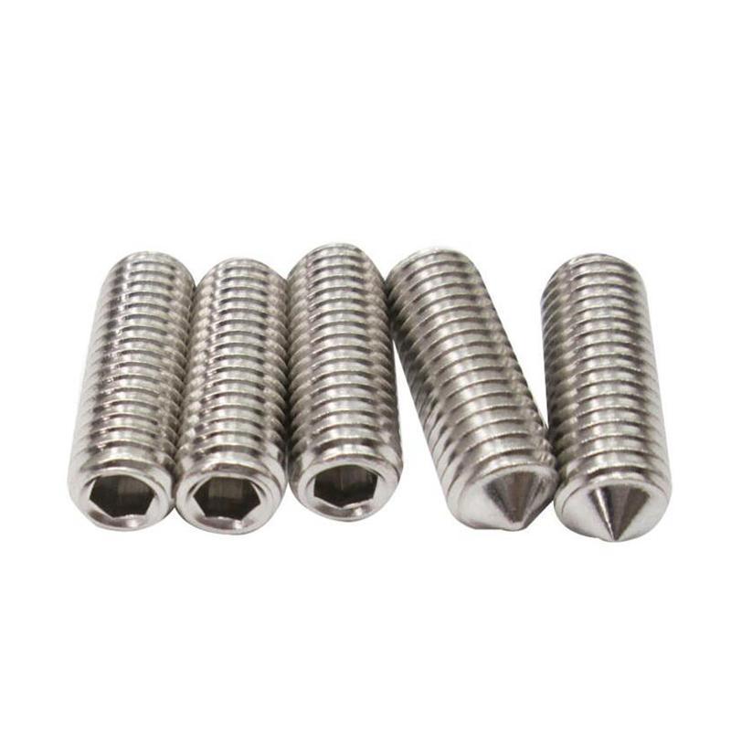 100Pcs M612//16//20//25//30//35//40//45//50 White Nylon Plastic Hex Bolt Hex Head Screw Insulation Bolt M6 14mm