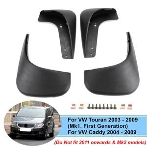 Image 1 - Car Mud Flaps Splash Guards Mudguards Mudflaps Fender Front Rear For VW Touran 2003 2009 Caddy 2004 2009