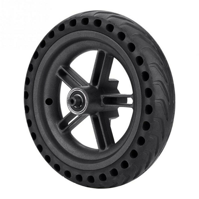 Image 5 - 8.5 Inch Damping Solid Tyres Hollow Non Pneumatic Wheel Hub And Explosion Proof Tire Set For Xiaomi Mijia M365 Electric Scoote-in Scooter Parts & Accessories from Sports & Entertainment