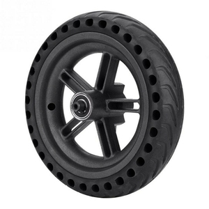 Image 5 - 8.5 Inch Damping Solid Tyres Hollow Non Pneumatic Wheel Hub And Explosion Proof Tire Set For Xiaomi Mijia M365 Electric Scoote