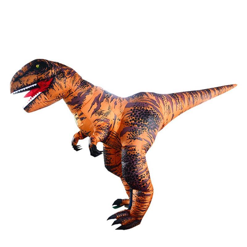 Inflatable T Rex เครื่องแต่งกายไดโนเสาร์ชุดเด็กผู้ใหญ่ผู้ชายผู้หญิง Blowup สัตว์ Cosplay ชุดเสื้อผ้าสำหรับ DIY ตกแต่ง-ใน อุปกรณ์ตกแต่ง DIY งานปาร์ตี้ จาก บ้านและสวน บน   3
