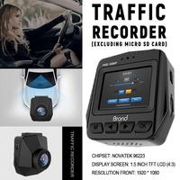 New Mini Car DVRs Camera Dash Cam Full HD 1080P Recorder Video Registrar Night Vision Vehicle Recorder Car Cam Dash Camera