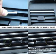 4M Car Interior Decoration Styling Line for BMW 1 series E87 E81 2004-2011 For BMW BMW 5 GT5 6 7 Series X3 X4 Car Accessories(China)
