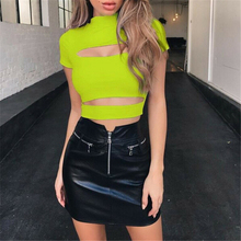 Hollow Out Ladies Tops