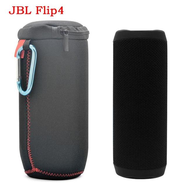 US $4 19 15% OFF|VODOOL Speakers Travel Carry Protection Soft Column Bag  Pouch Storage Box Cover Case for JBL Flip 4 Wireless Bluetooth Speaker -in