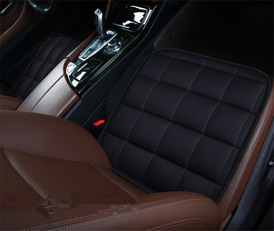 5 Seat 3D Car Seat Cushion Bamboo Charcoal Breathable Front Back Rear Seat Cover Pad For All Car Chair Pad Car Styling - 2