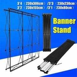 Aluminum Flower Wall Folding Stand Frame Wedding Backdrop Decor Banner Presentation Advertisement Display Shelf Holder Assembly
