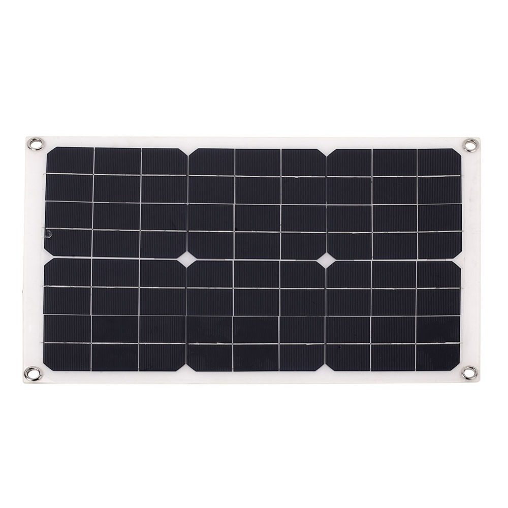 Outdoor Solar Panel 20W 18V Portable Solar cell Emergency Power Supply Solar Generator USB+DC Port Solar Panels Power Charger mvpower mini fast charger usb solar panel 5w 5v solar generator portable climbing solar charger pane usb port outdoor