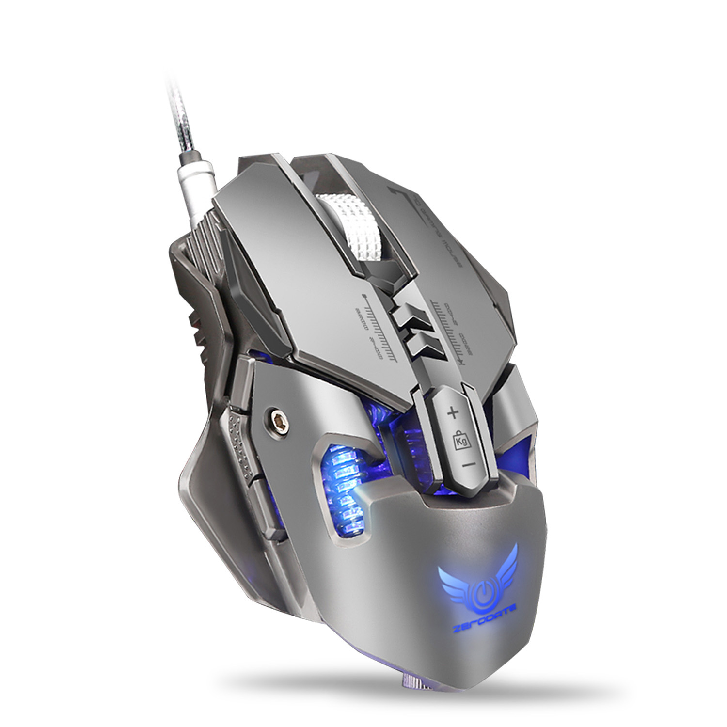 New ZERODATE X300GY High Quality 4000DPI Professional Wired Mouse Gaming Computer Mouse Mice Optical Mouse