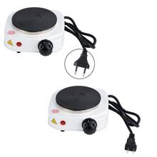 Kitchen Portable 500W Electric Mini Stove Hot Plate Multifunctional Home Heater Baking Oven Plate