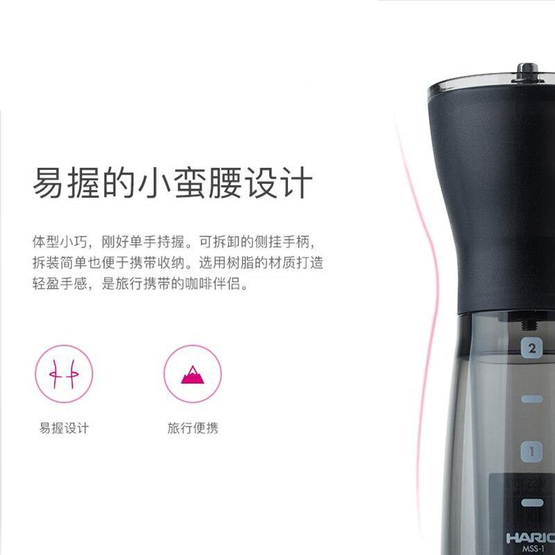Coffee Grinder Coffee Bean Lapping Machine Hand Milling Machine Mini- Portable Household Manual Operation Smash Coffee Machine