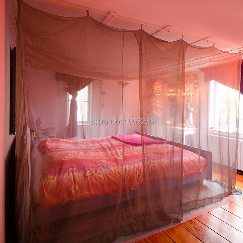 Double door Square Radiation shielding Mosquito Net-in Mosquito Net from Home & Garden    1