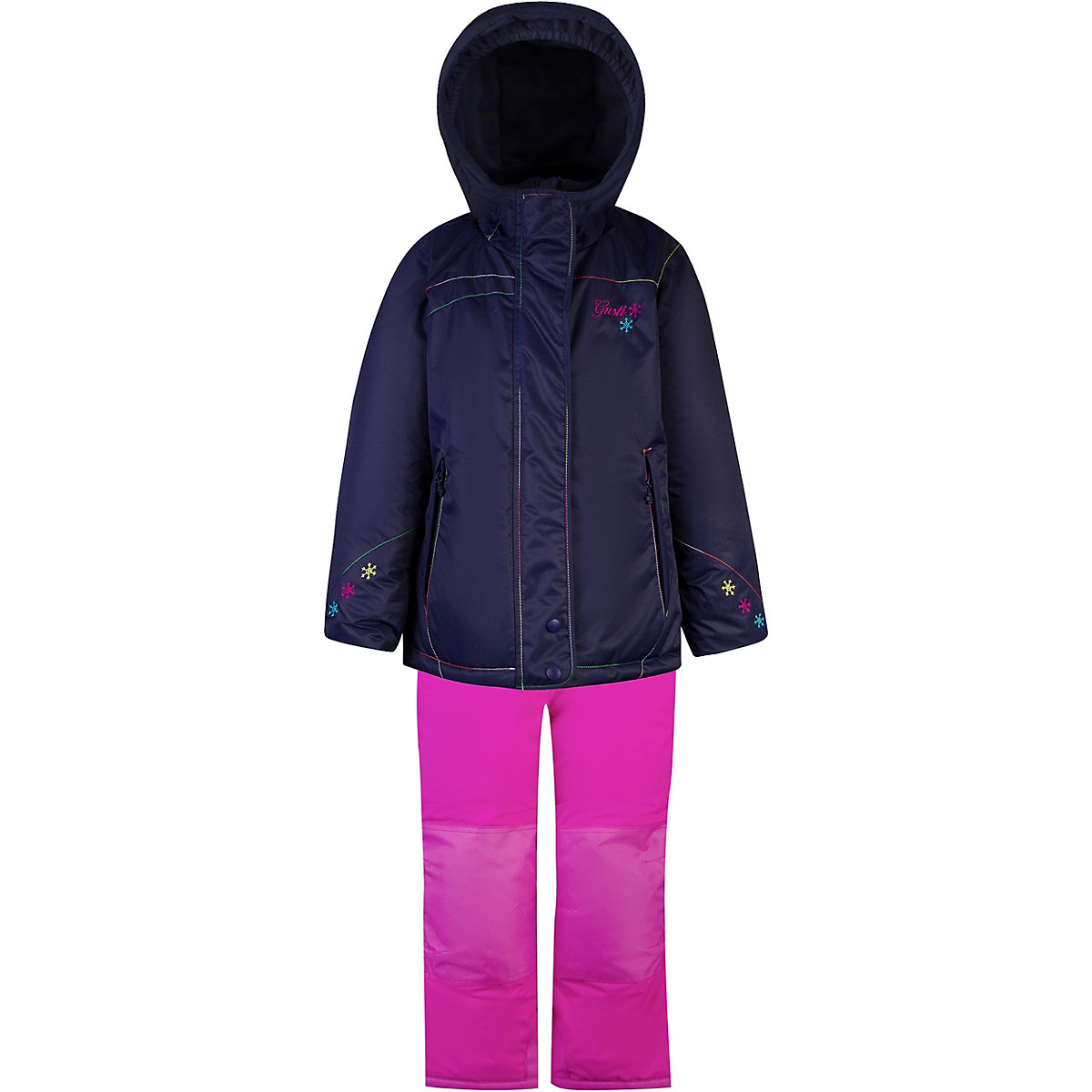 GUSTI Children's Sets 9512028 clothing for girls set dress winter clothes girl kids wear bondibon раскраска антистресс мистические совы