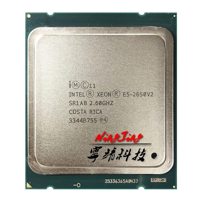 Intel Xeon E5 2650v2 E5 2650v2 E5 2650 v2 2 6 GHz Eight Core Sixteen Thread