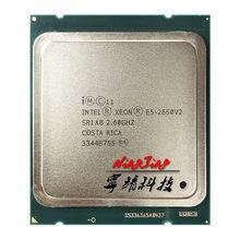 Intel Xeon E5-2650v2 E5 2650v2 E5 2650 v2 2.6 GHz sekiz çekirdekli on altı iplik CPU işlemci 20M 95W LGA 2011