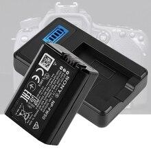 NP FW50 ładowarka samochodowa ładowarka LCD USB ładowarka do Sony Alpha A6000 A6300 A6500 A7r A7 ładowarka baterii Drop Ship