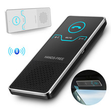 SOONHUA Wireless Bluetooth Handsfree Car Kit Sun Visor Handsfree Speaker Speakerphone Car Audio MP3 Player Voice Broadcast