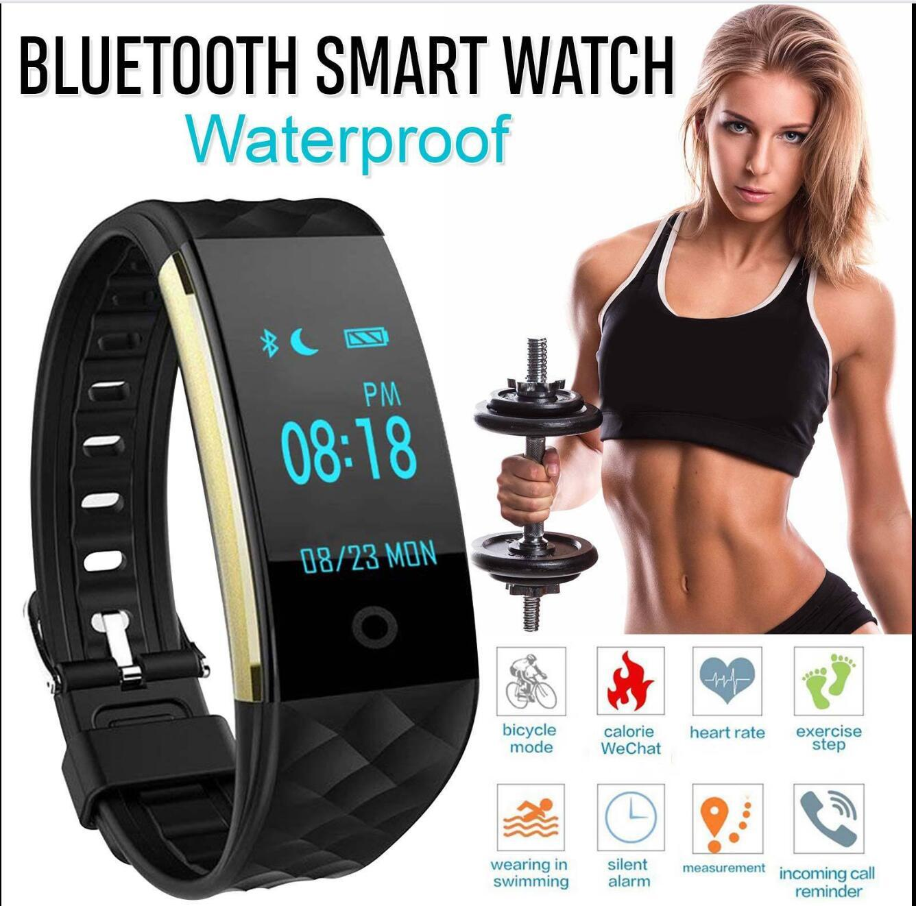 Heart Rate GPS Waterproof Smart Bracelet Watch Wristband Dynamic heart rate health bracelet