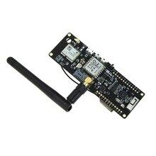 Ttgo T Fascio Esp32 915Mhz Wifi Senza Fili di Bluetooth Modulo Esp32 Gps Neo 6M Sma Lora 32 18650 Supporto Della Batteria con Softrf IP5306