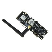 Ttgo t луч Esp32 915 МГц Wifi беспроводной Bluetooth модуль Esp32 Gps Neo 6M Sma Lora 32 18650 Держатель батареи с Softrf IP5306