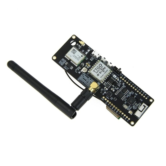 Ttgo t beam Esp32 915Mhz Wifi sans fil Bluetooth Module Esp32 Gps Neo 6M Sma Lora 32 18650 support de batterie avec Softrf IP5306