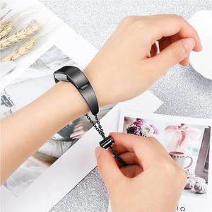Image 3 - Durable Mode Uhr Band Edelstahl Ersatz Handgelenk Bands Straps Frauen Armband Zubehör Für Fitbit Alta HR/Fitbit