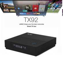 Tanix TX92 S912 3 GB 32 GB Android 7,1 caja de TV Octa Core 1000 M 5G Dual Wifi bluetooth 4,1 Android 4 K Smart Top Box Media Player(China)