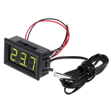 цена на Mini Digital LCD Display Thermometer Temperature Panel Meter Gauge New