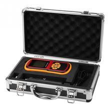 Цифровой измеритель вибрации GM63B, портативный мини измеритель вибрации с ЖК дисплеем и щупом 0 40