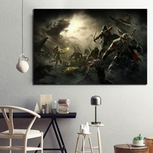 1 Piece Elder Scrolls Game Poster Artwork Painting The Elder Scrolls Online Picture Canvas Painting Wall Art for Home Decor видеоигра для ps4 elder scrolls online tamriel unlimited