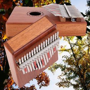 Image 5 - קלימבה 17 מפתח גוני פסנתר אגודל mbira כלי נגינה אפריקה אצבע פסנתר 30key מכונה 21 מפתח instrumento מוסיקלי