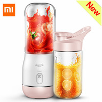 Xiaomi Deerma Portable Electric Juicer 400ML Wireless Automatic Multipurpose Mini USB Rechargable Juice Cup Blender Cut Mixer